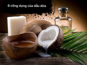 Dầu dừa có nhiều công dụng làm đẹp da