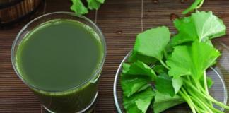 Uống nước ép rau má và đắp bã rau má mang lại kết quả bất ngờ cho làn da