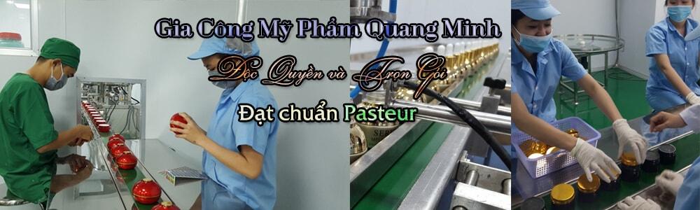 Gia công mỹ phẩm độc quyền trọn gói đạt chuẩn kiểm định Pasteur