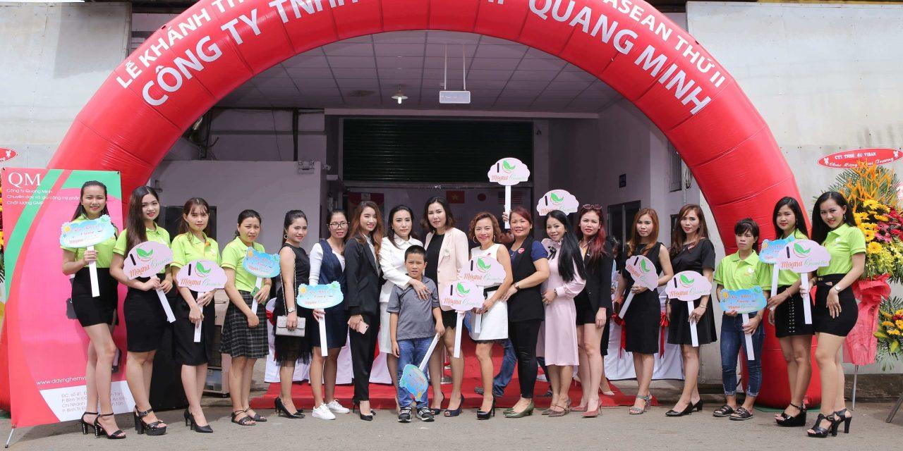 Quang Minh khánh thành xưởng sản xuất mỹ phẩm thứ 2 quy mô lớn