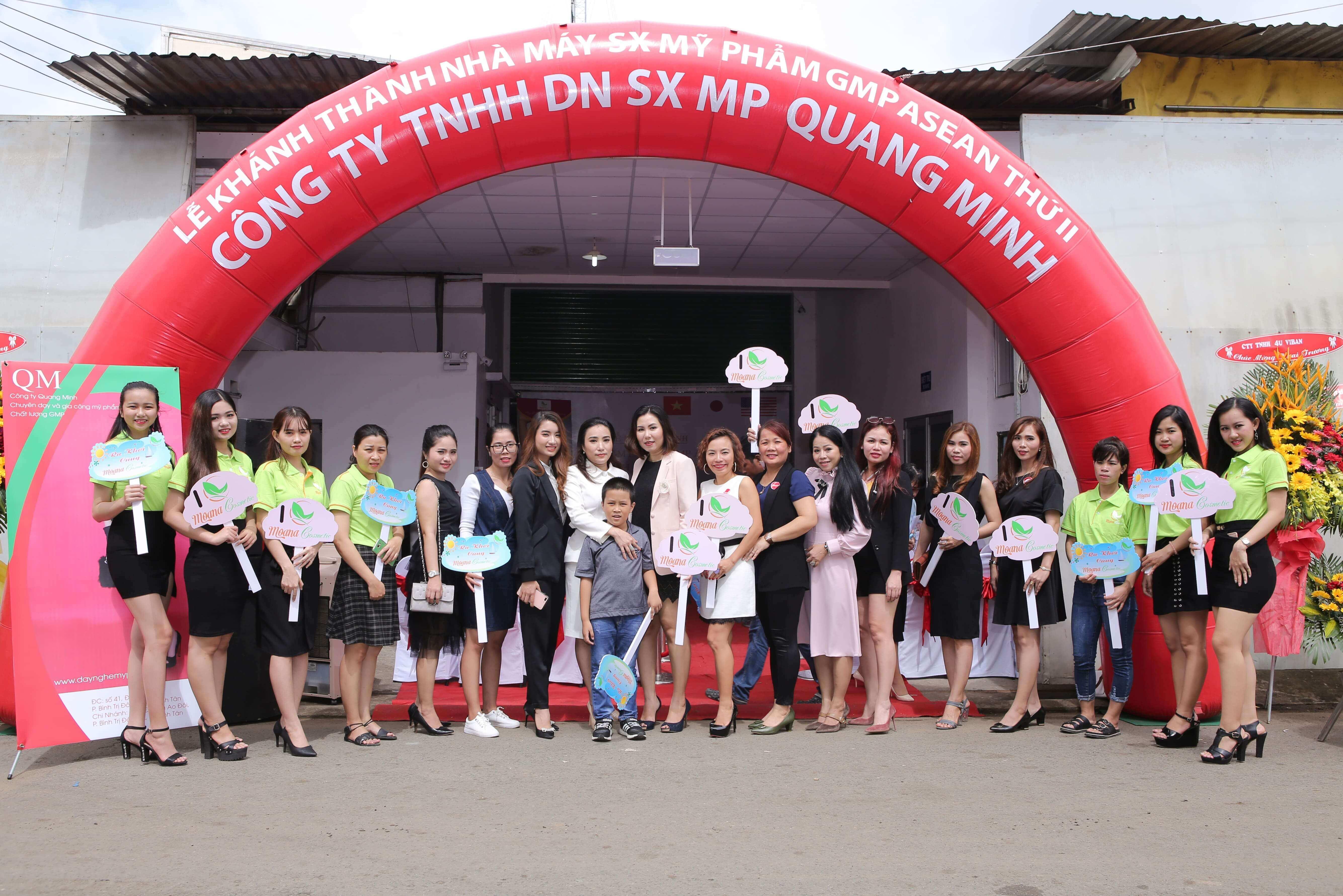 Quang Minh Cosmetic khánh thành nhà xưởng sản xuất thứ 2 qui mô lớn