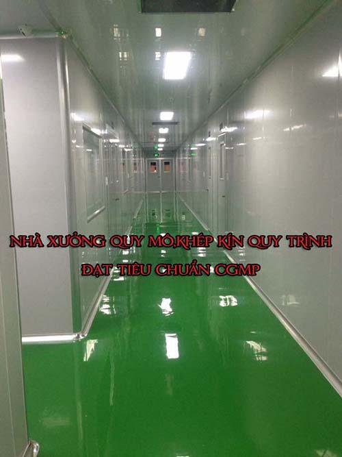 Nhà xưởng sản xuất mỹ phẩm đạt chuẩn cGMP ASEAN
