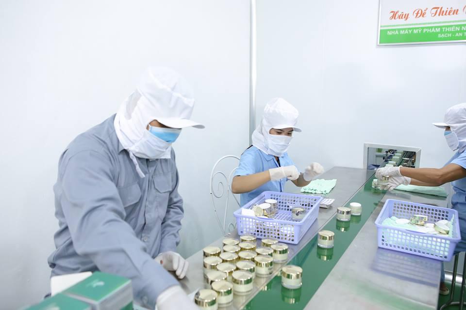 Nhà máy sản xuất mỹ phẩm công nghệ hiện đại, khép kín theo tiêu chuẩn cGMP